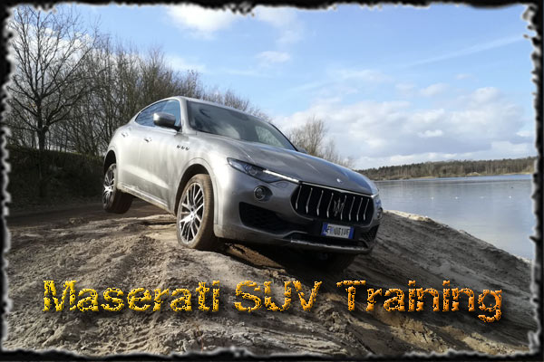 Maserati Levante Training